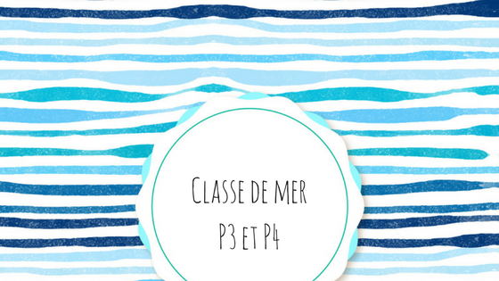 Classes de Mer – Jeudi 07/11/2019